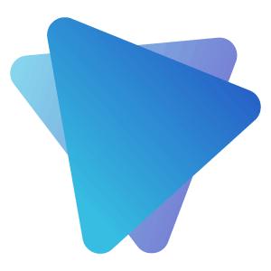 Niebieska ikona