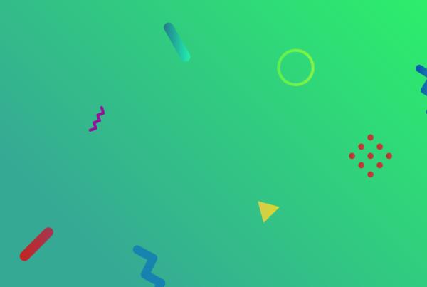 Zielone tło na stronie Webtiq